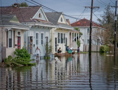 After Katrina in New Orleans