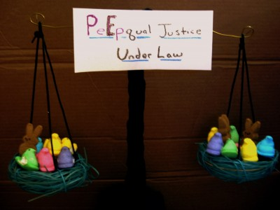 PeEpqual Justice Under Law (from the Supreme Court building)