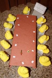 Twelve Angry Peeps