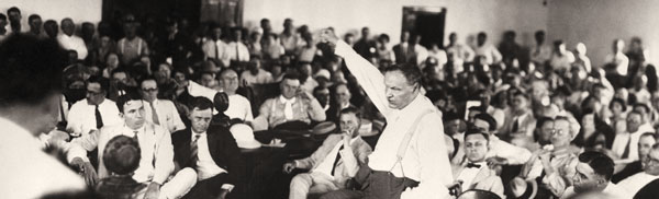 Clarence Darrow at the trial