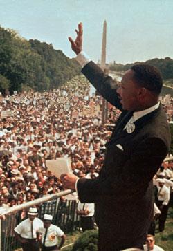 MLK at the March on Washington
