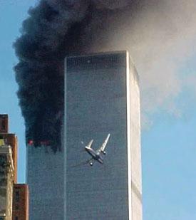 Plane hits World Trade Center