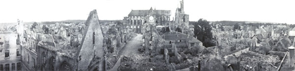 Soissons, France in 1919