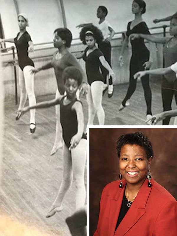 Ballet Class with Woman Smiling