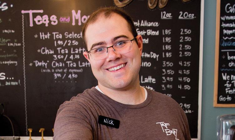 employee Nick Sinacori