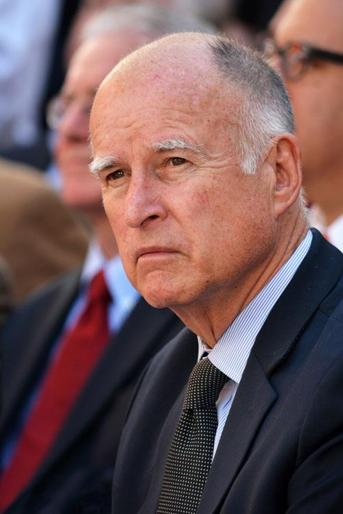 Former Gov. Jerry Brown