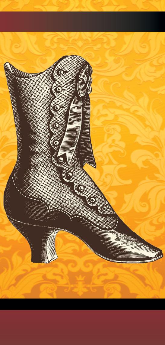 woman's victorian shoe