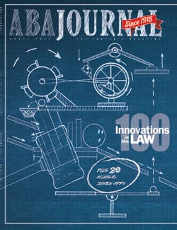 ABA Journal April Cover