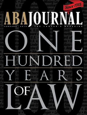 ABA Journal Centennial Cover