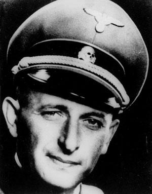 Eichmann in Nazi uniform