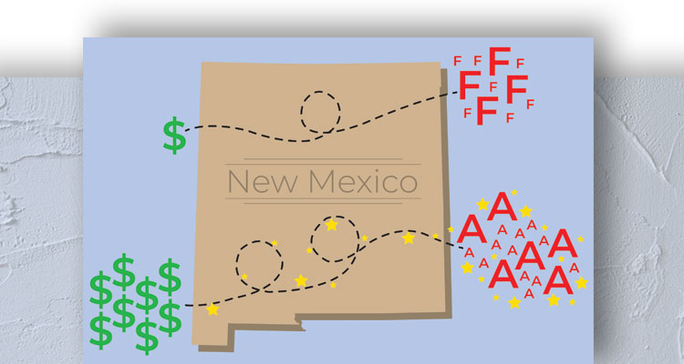 Graphic of New Mexico