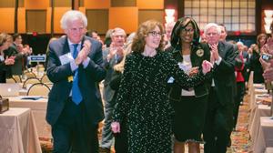 Linda Klein receives nomination