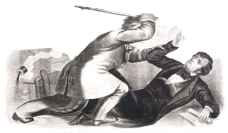 historical image of beating