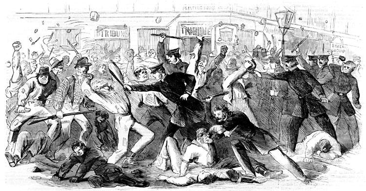 Illustration of Riots