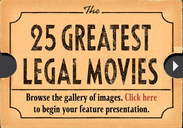 25 Greatest Legal Movies