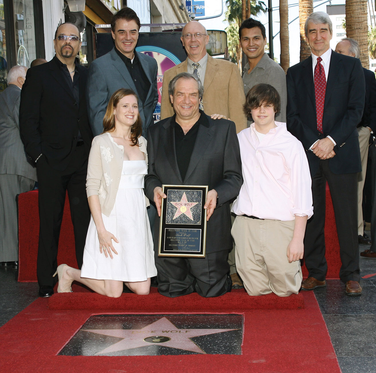 Dick Wolf Hollywood Walk of Fame
