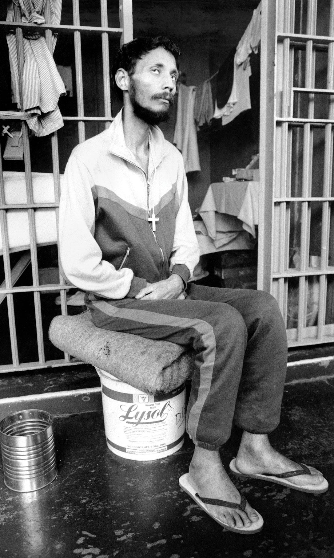 Prisoner with AIDS
