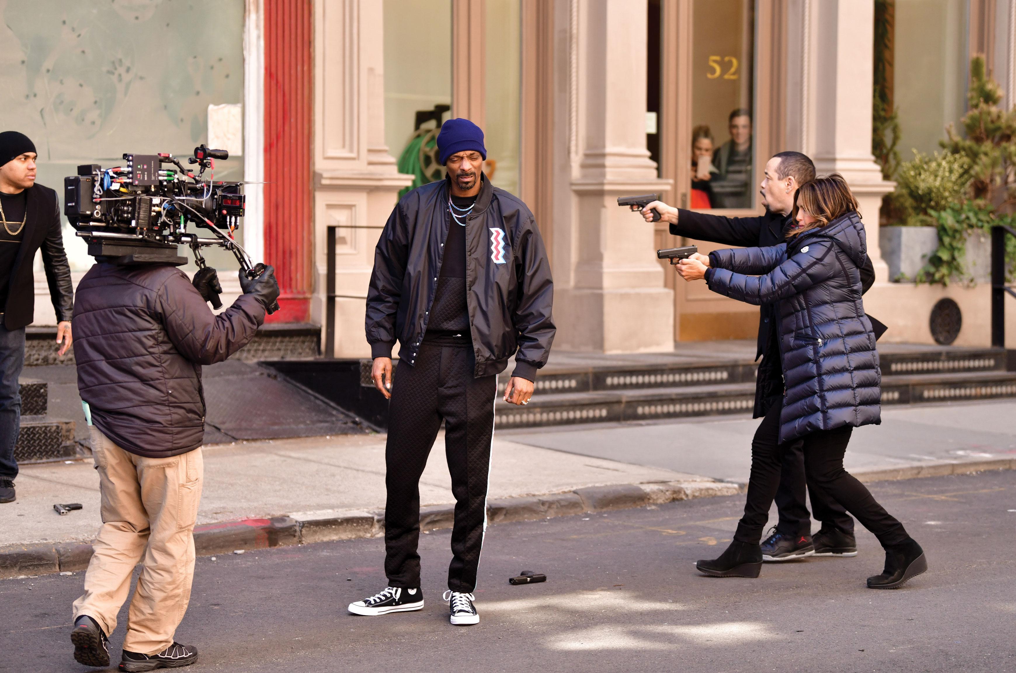 Law & Order SVU Episode Filming