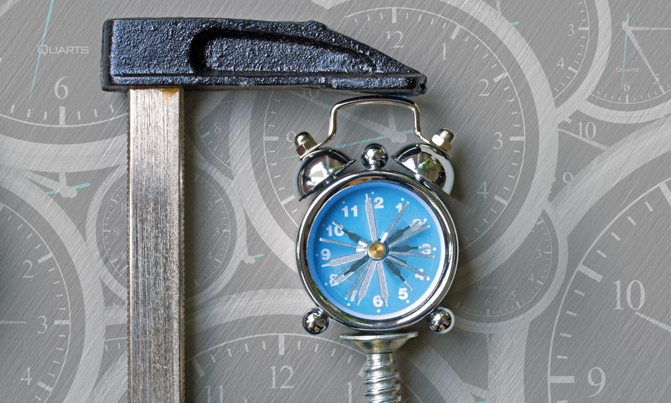 Clock in Vice