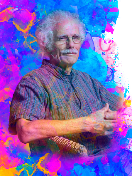 Stephen Bingham psychadelic background