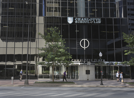 The Charlotte School of Law Facade