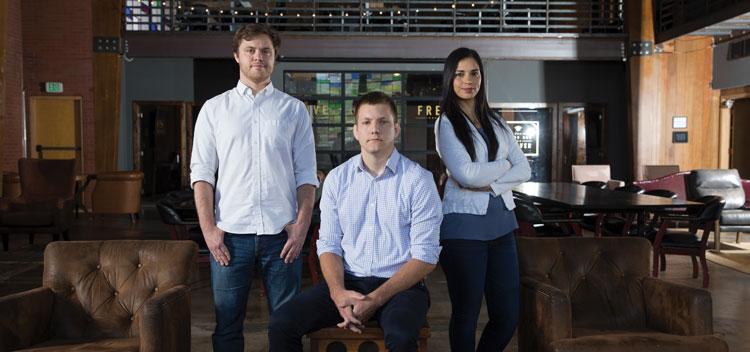 Sam Stoddard, Brady Stoddard and Ayde Soto
