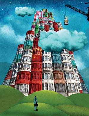 Dentons megafirm illustration