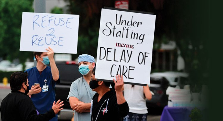 nursing strike
