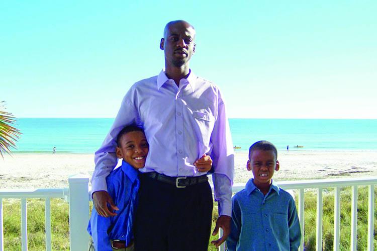 Duane Washington and sons