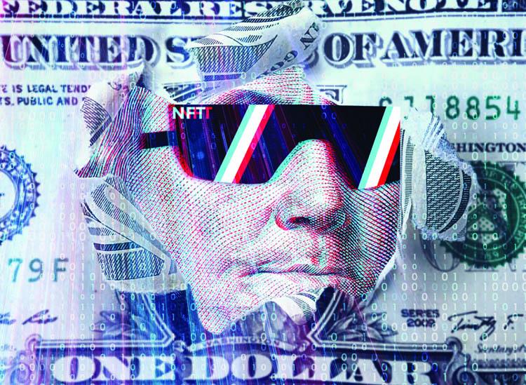 George Washington Money Sunglasses