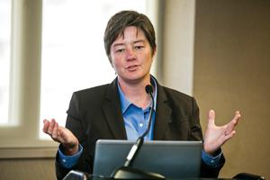 Rebecca Sandefur speaks at 2014 ABA Annual Meeting