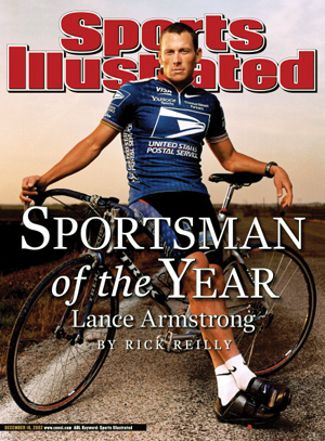 Lance Armstrong on Sports Illustrated Cover