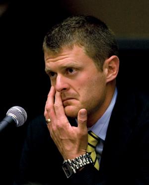 Floyd Landis at arbitration hearing