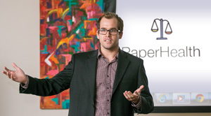 Attorney William Palin wins first prize for his iOS app, PaperHealth