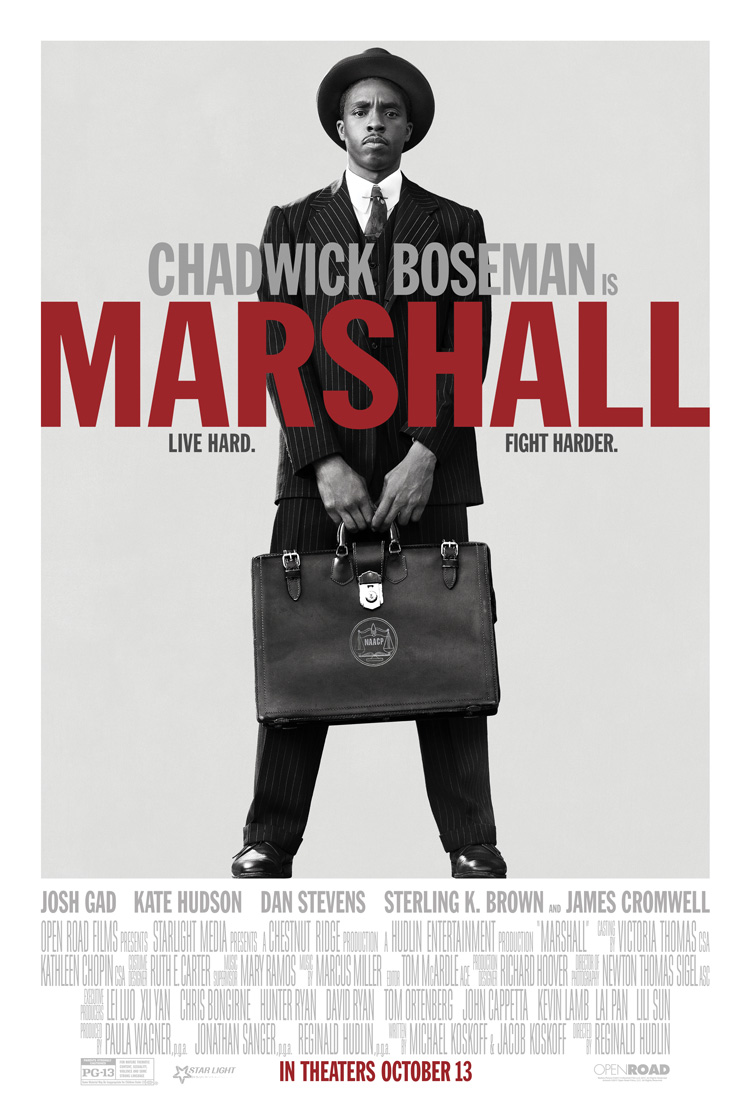 movie poster for thurgood marshall film