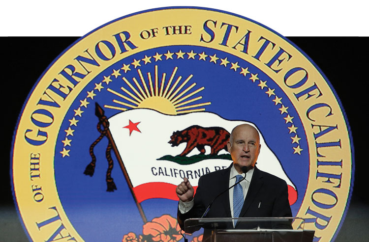 California Govenor Jerry Brown