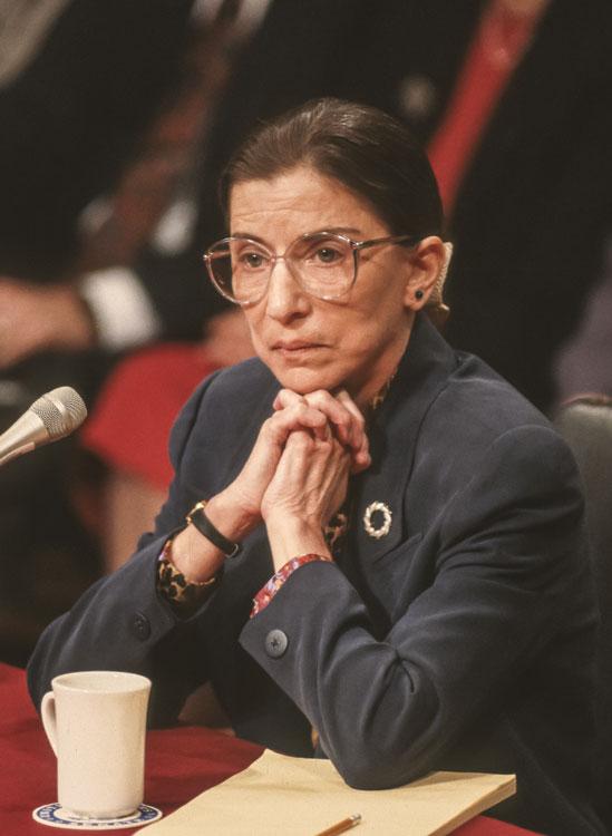 Ruth Bader Ginsburg confirmation hearings 1993