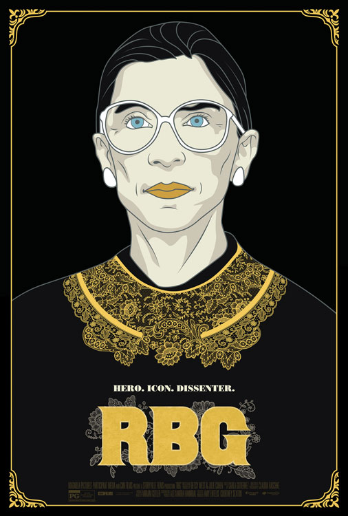RBG the movie by Magnolia Pictures