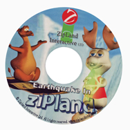 ZipLand Interactive CD