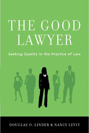 Book cover entitled The Good Lawyer