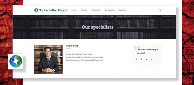 Fake Squire Patton Boggs website