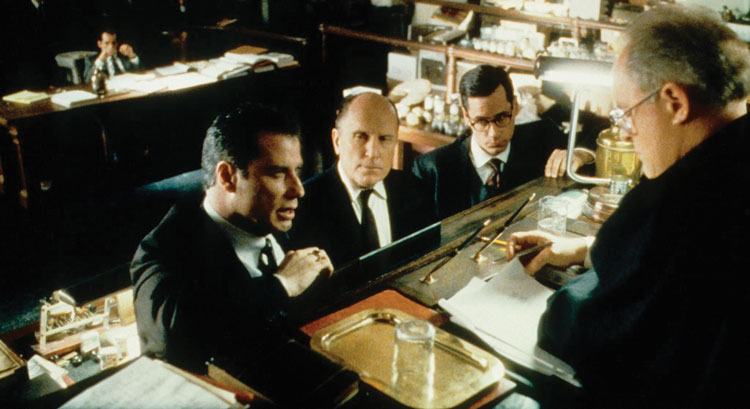 Scene from movie A Civil Action