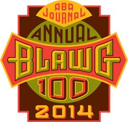 2014 Blawg 100 Badge