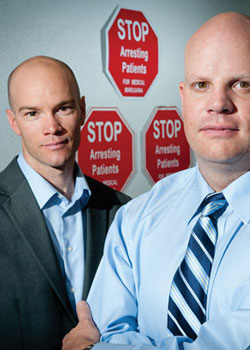 Brian Vincente and Christian Sederberg head a Denver-based medical marijuana law firm