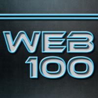 Web 100 logo.