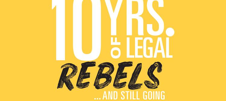 Legal Rebels header