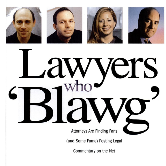 Lawyers Who Blawg headline.