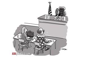 Clown in Court
