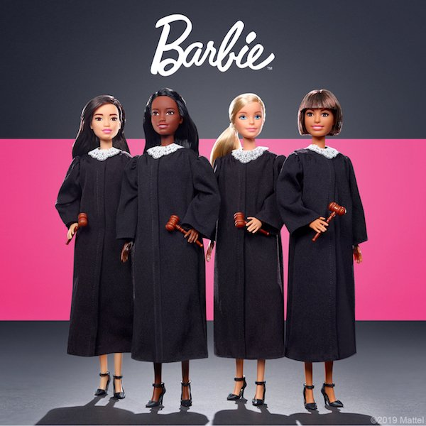 Barbie judge dolls