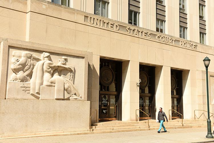 U.S. Courthouse in Philadelphia